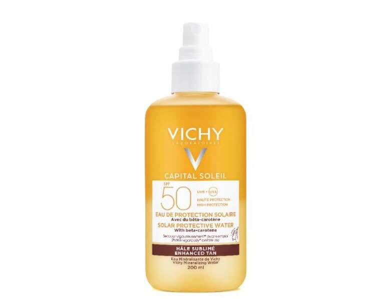Crème solaire : l'eau de protection signée Vichy