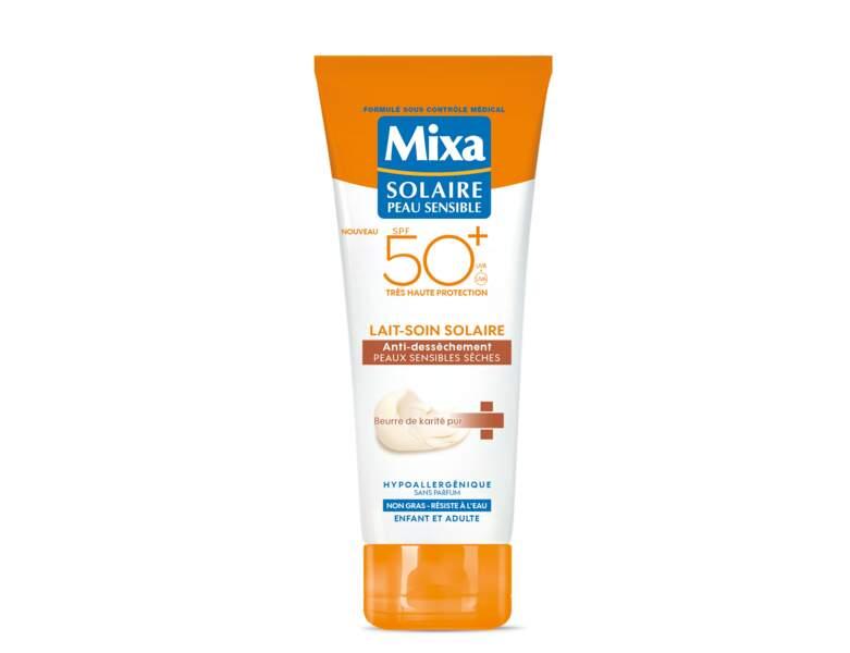 Crème solaire : la protection pour les peaux très sensibles de Mixa