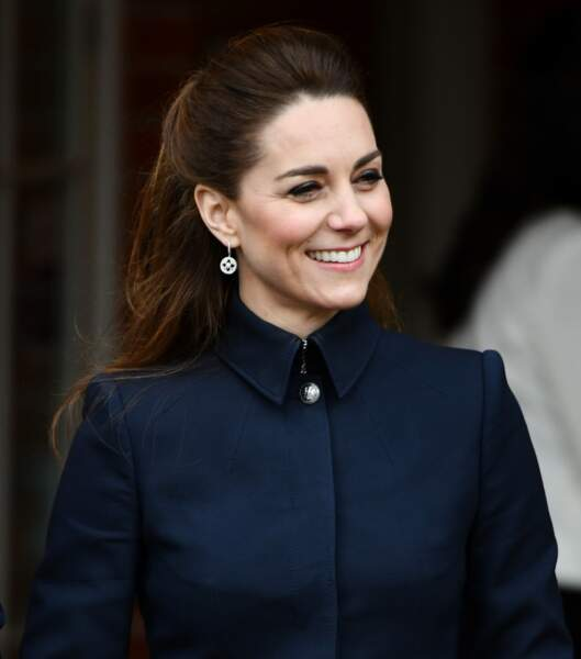 Pour mettre en valeur son sourire en toute discrétion, Kate Middleton est fidèle à l'embellisseur Clarins