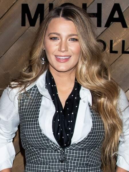 Blake Lively est une inconditionnelle de la marque française Caudalie, notamment de l'eau de beauté