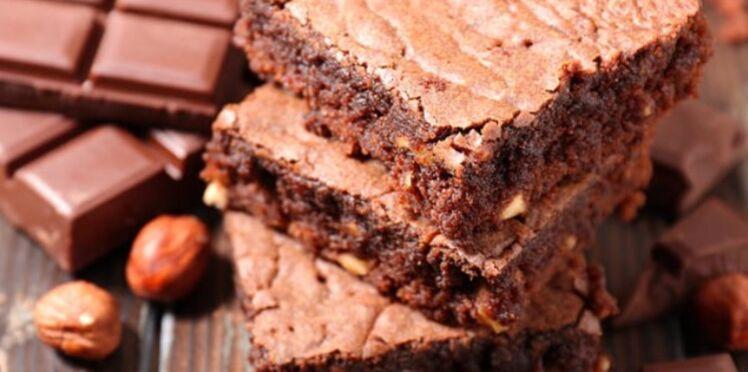 Brownies au chocolat sans cuisson