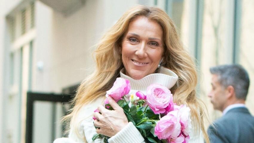 PHOTOS – Céline Dion, encore un look rose fluo totalement déjanté ! Elle porte la jupe avec un pantalon (oups !)