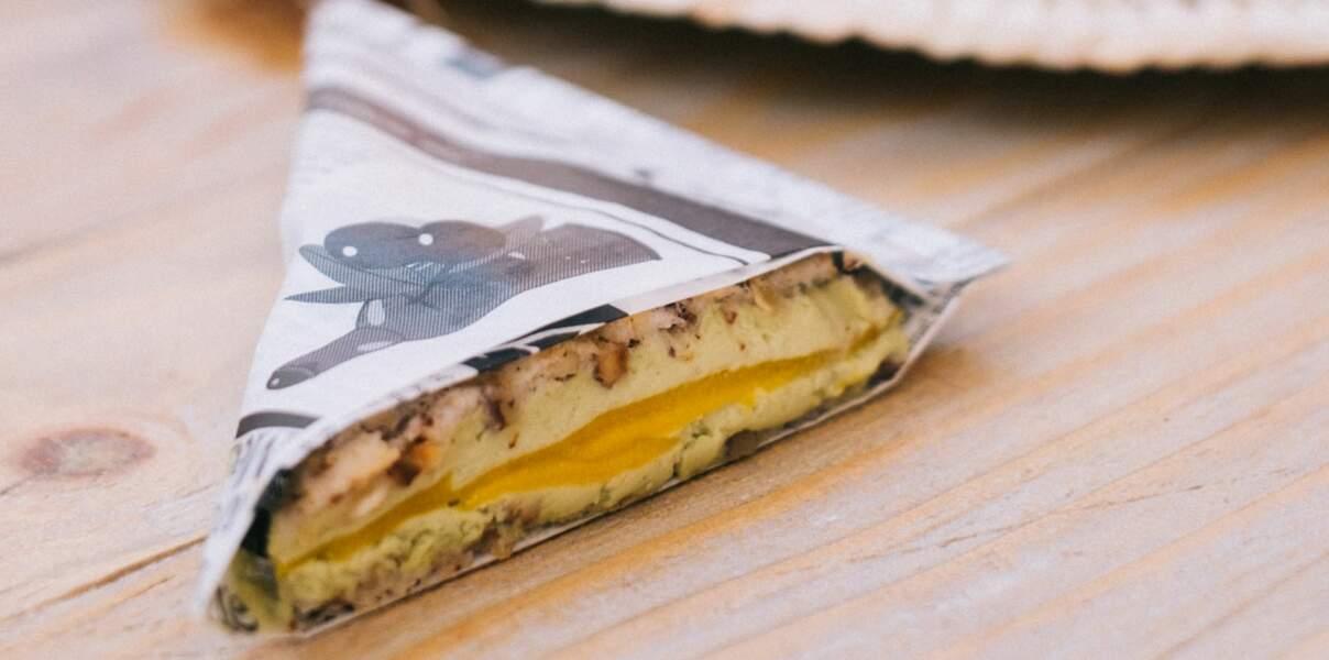 Club sandwich sucré de Pierre Augé et Geoffrey Djami