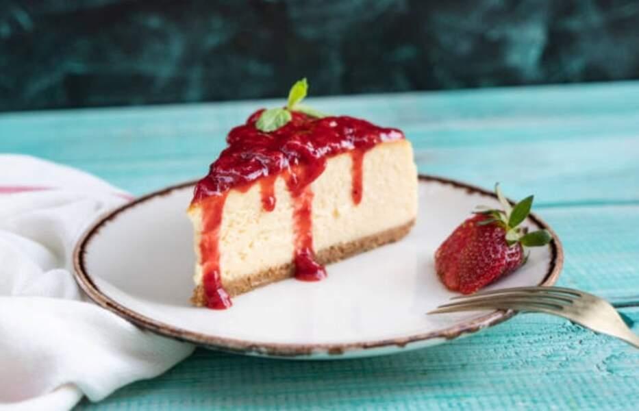 Gâteau mascarpone ricotta fruits rouges sans cuisson