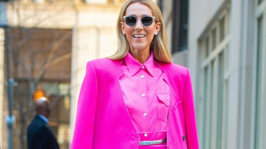 Photos - Céline Dion : cette tenue totalement osée pour braver le froid !