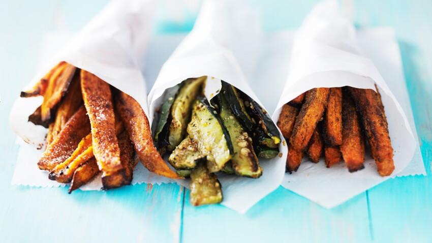 """Carottes, courgettes : 8 légumes pour faire des frites version """"healthy"""""""