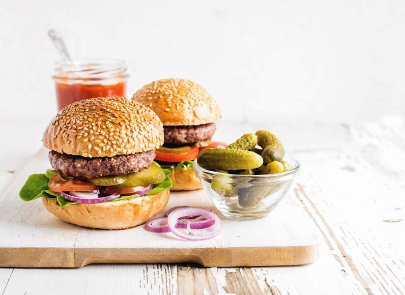 Nos meilleures recettes de burgers - Femme Actuelle