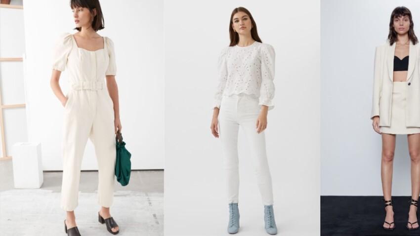 Total look blanc : comment bien le porter ? Conseils et idées de looks canons pour le printemps
