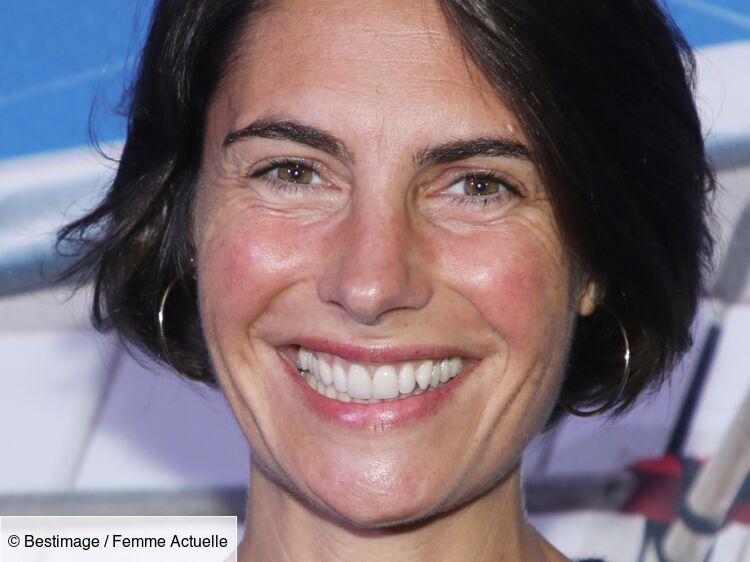 Alessandra Sublet : coupe courte décontractée et maquillage nude, sublime pour la bonne cause