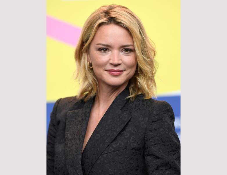 Virginie Efira et sa coloration blonde