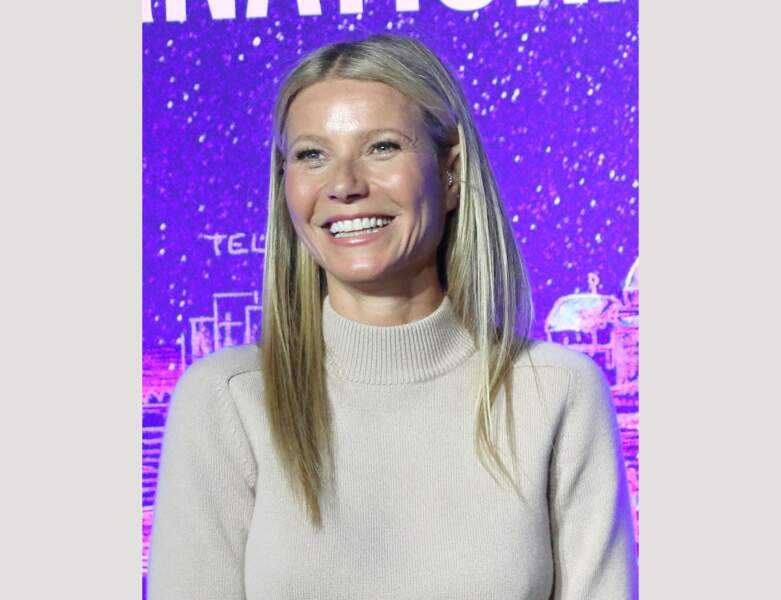 Les mèches blond platine de Gwyneth Paltrow