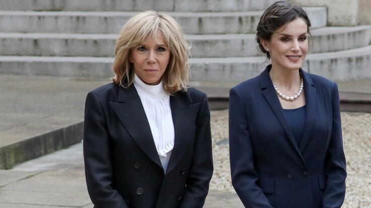 Brigitte Macron infectée par le coronavirus après la visite de Letizia d'Espagne ?