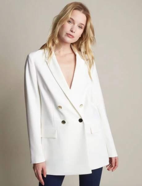 Blazer tendance : le blazer blanc qui va avec tout