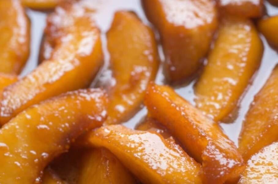 Confits de pommes à la vanille, cannelle et spéculoos