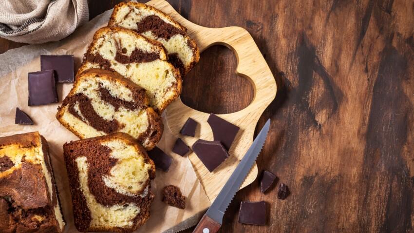 Cyril Lignac : la recette du gâteau marbré moelleux chocolat et vanille