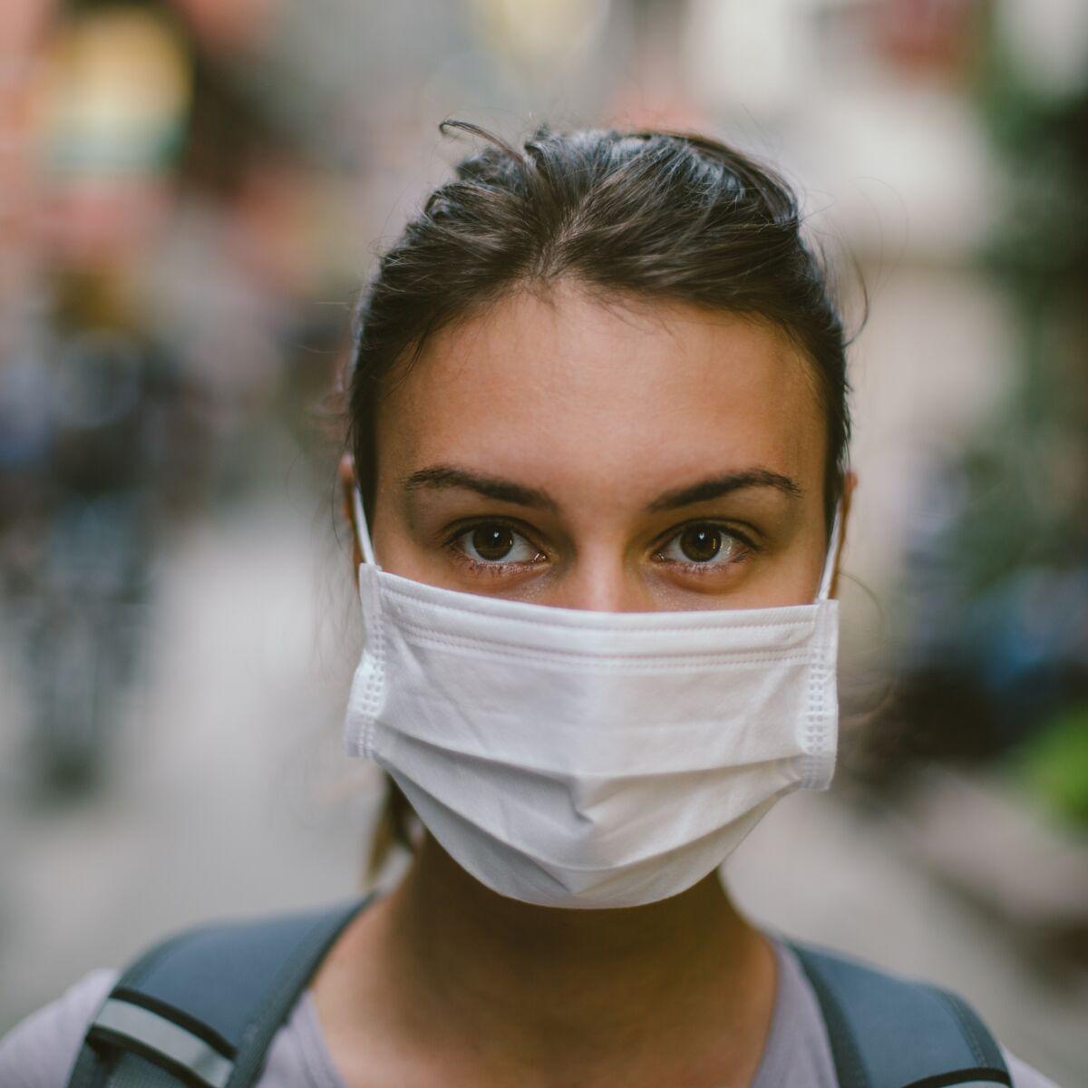 masque de protection en papier