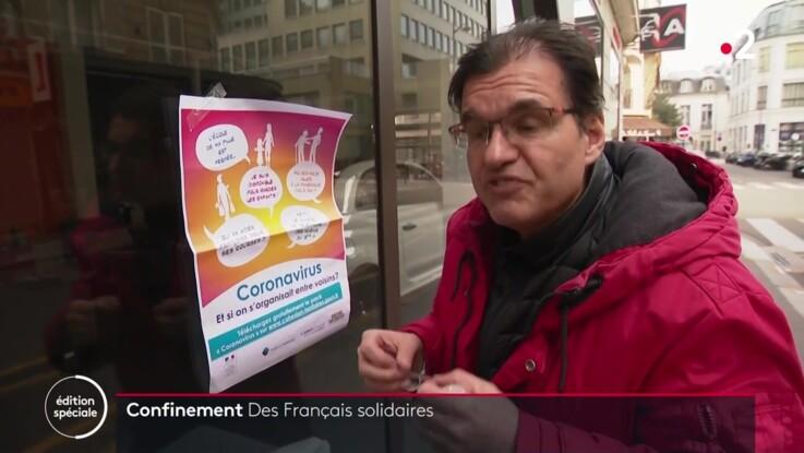 Coronavirus: la solidarité entre voisins fonctionne à plein