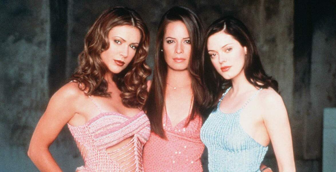 "Alyssa Milano, Holly Marie Combs et Rose McGowan dans ""Charmed"" en 2002"