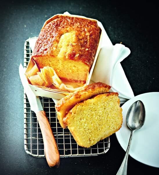 Cake au citron d'Eric Frechon