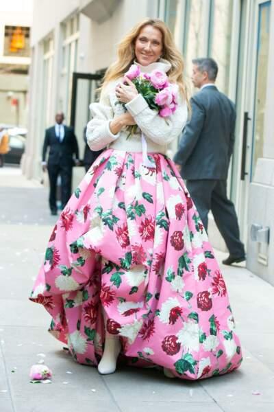 Nouvelle icône mode : Céline Dion après