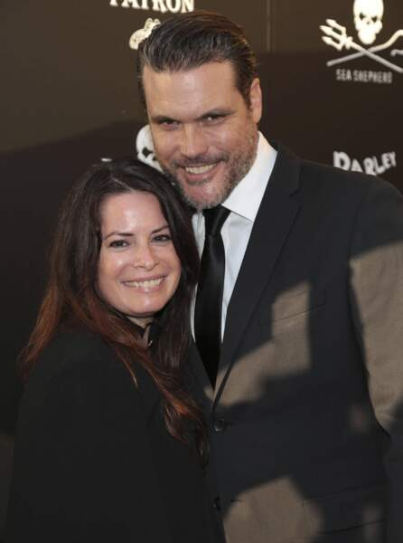 Holly Marie Combs et son époux Mike Ryan en 2017