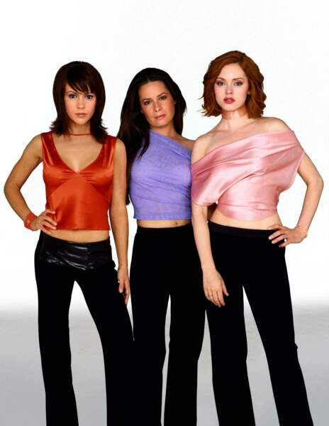 "Alyssa Milano, Holly Marie Combs et Rose McGowan dans ""Charmed"" en 2003"