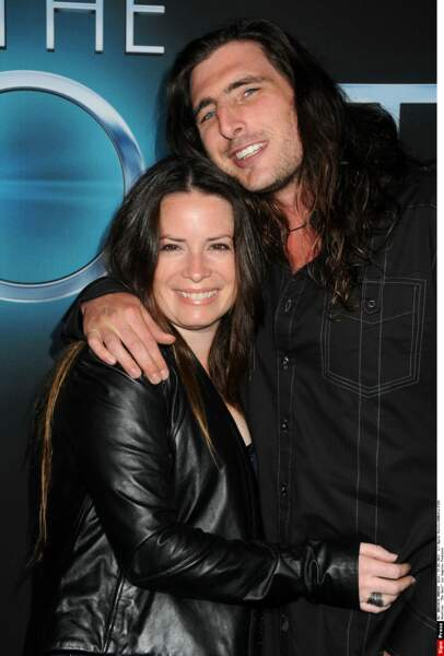 Holly Marie Combs et son ex-mari David Donoho en 2013