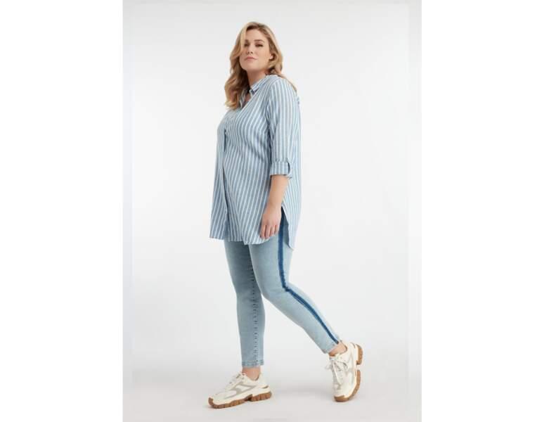 Mode ronde : la chemise en lin