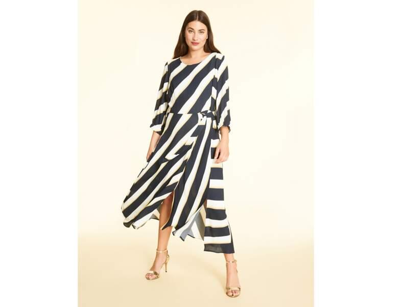 Mode ronde : la robe asymétrique