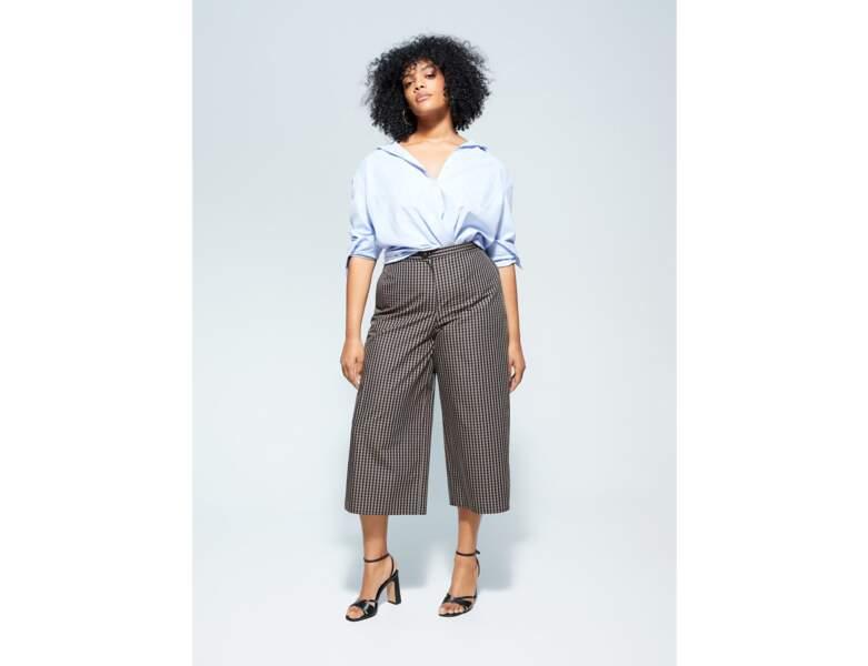 Mode ronde : la jupe culotte