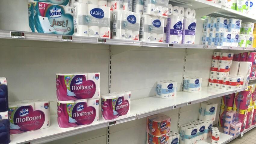 Coronavirus : pourquoi les Français dévalisent les rayons de papier toilette
