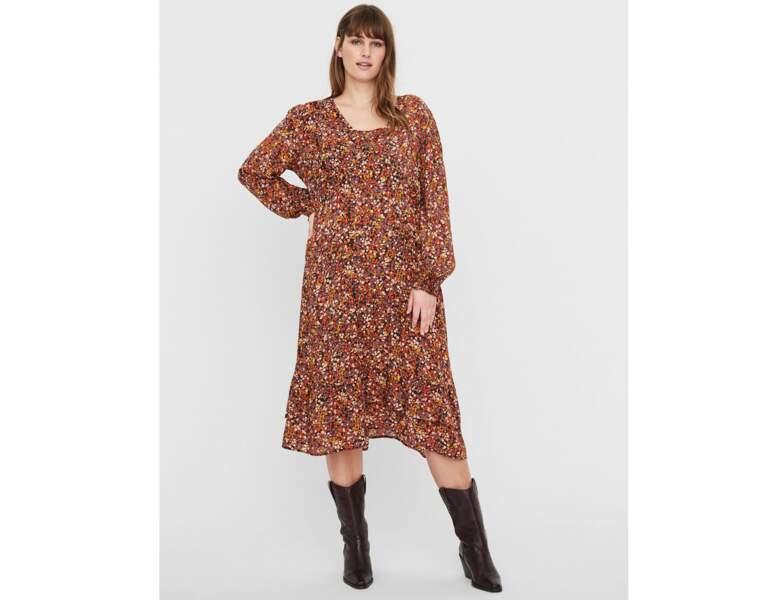 Mode ronde : la robe hippie chic