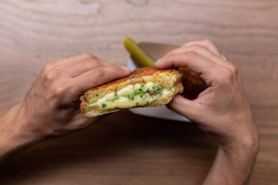 Le Lobster Grilled Cheese de Moïse Sfez
