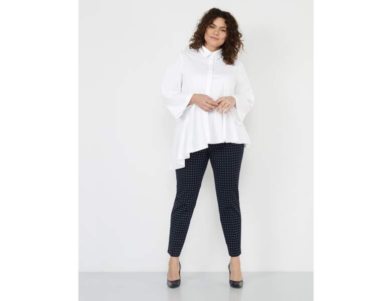 Mode ronde : la chemise blanche