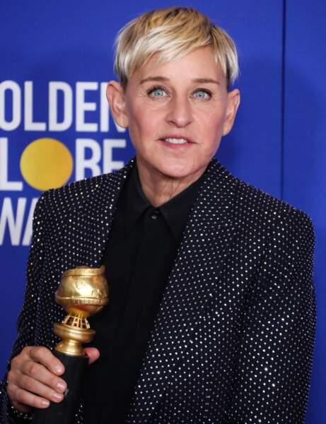 La coupe courte d'Ellen DeGeneres