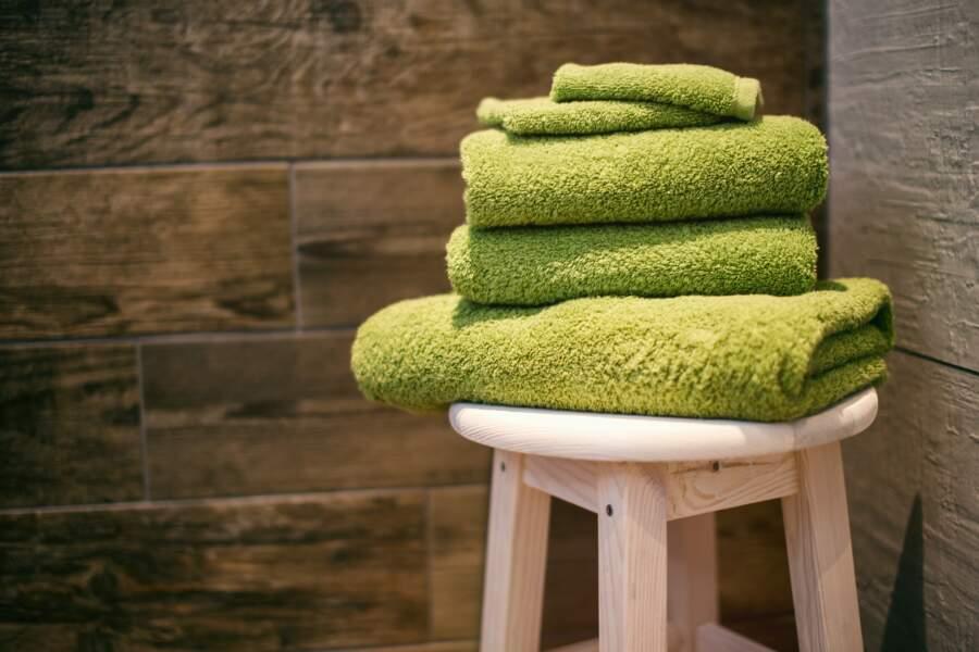 Partager sa serviette de bain