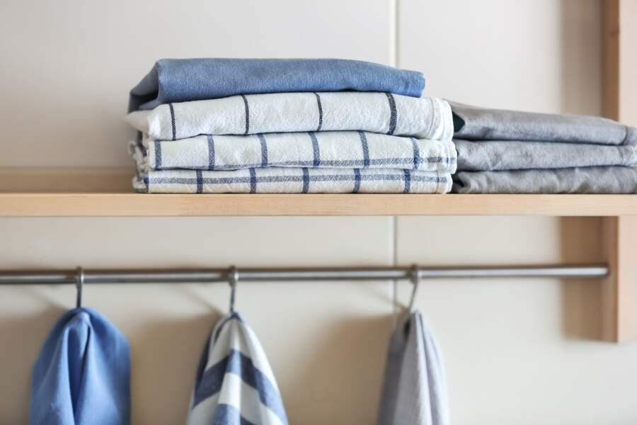 Ne pas laisser sécher ses torchons et ses serviettes après chaque utilisation