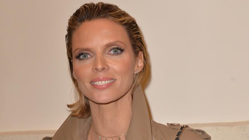 Sylvie Tellier sublime ultra-bronzée et avec son carré long coiffé au naturel