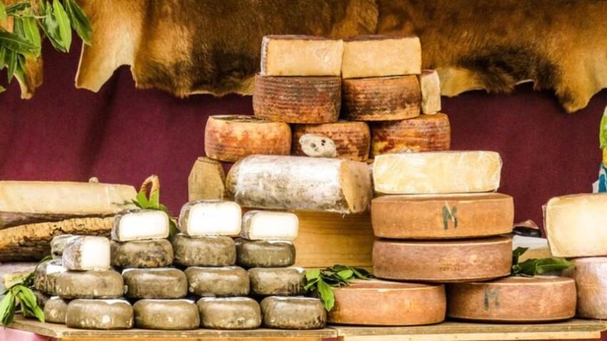 Calendrier des fromages : que manger au printemps ?