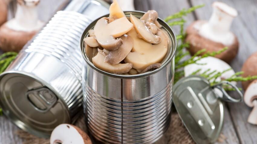Que faire avec une boite de champignons : nos recettes faciles pour le confinement