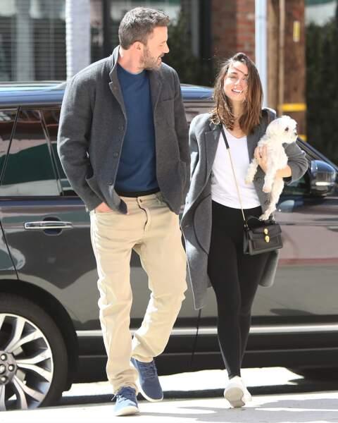 Le 18 mars 2020, Ben Affleck et Ana de Armas se sont rendus dans une librairie de Los Angeles, après un voyage au Costa Rica