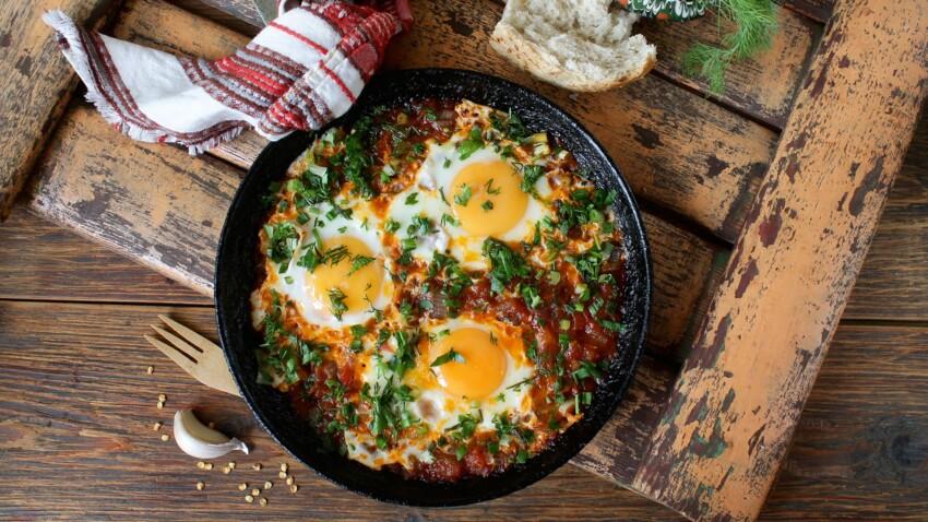 Nos meilleures recettes salées avec des œufs