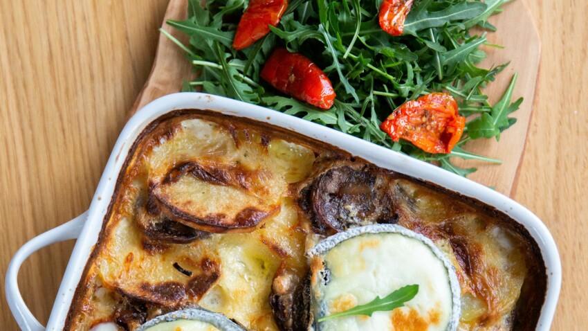 Gratin d'andouille, pommes de terre & Selle-sur-Cher