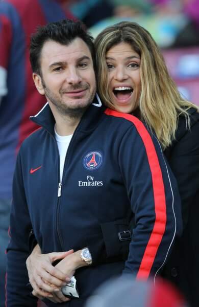 Michaël Youn et sa compagne Isabelle Funaro (2013)