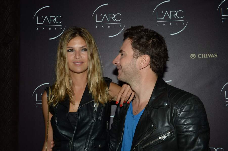 Michaël Youn et sa compagne Isabelle Funaro (2014)