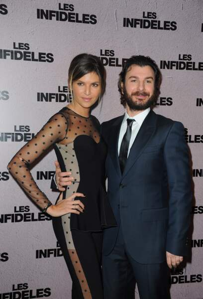 Michaël Youn et sa compagne Isabelle Funaro (2012)