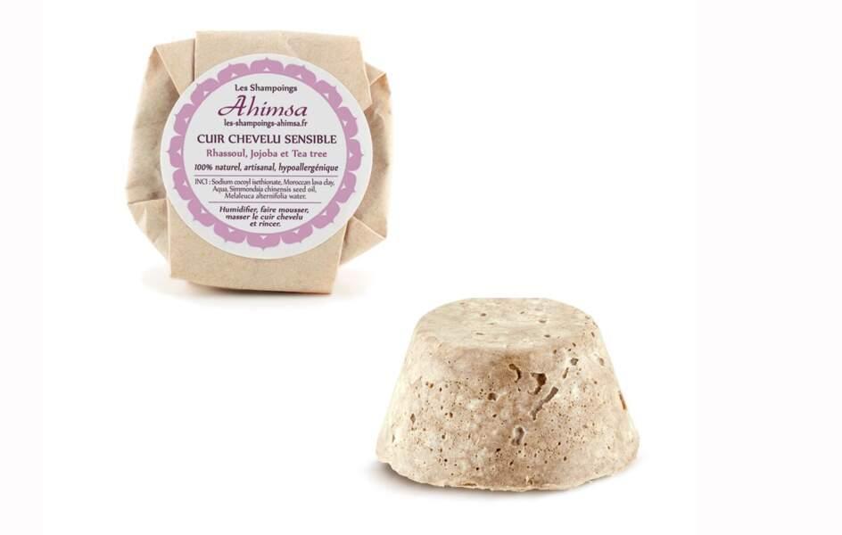 Un shampooing pour cuir chevelu sensible Ahimsa