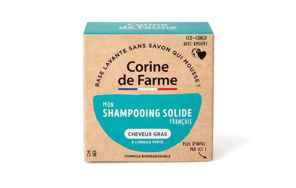 Un shampooing solide Corine de Farme