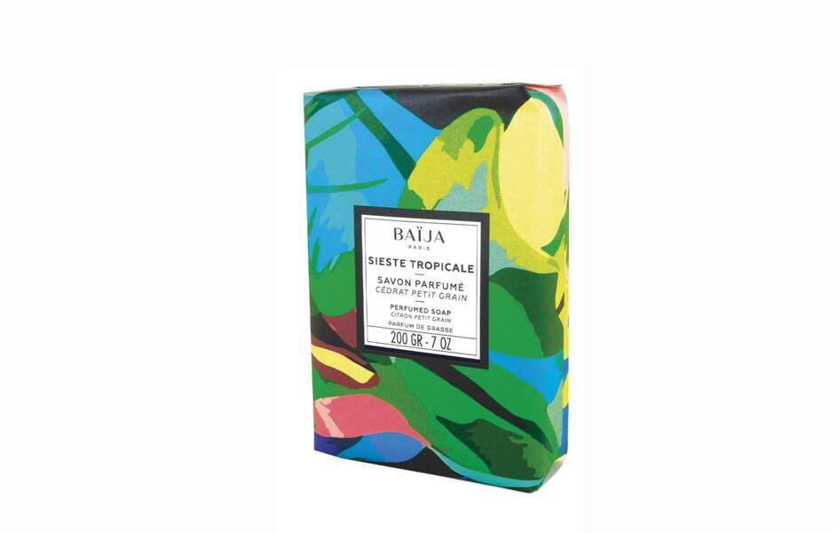 Un savon solide parfumé Baïja