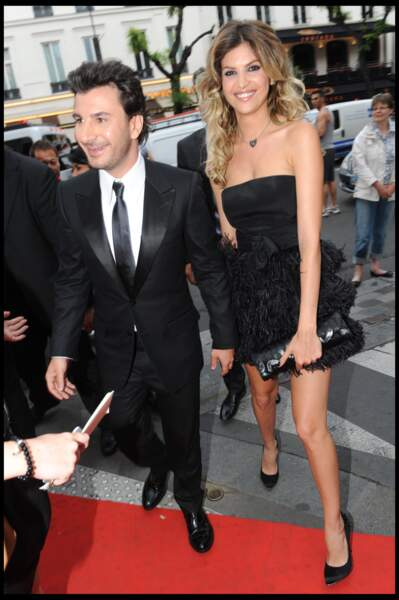 Michaël Youn et sa compagne Isabelle Funaro (2010)